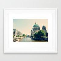 berlin Framed Art Prints featuring Berlin by Arevik Martirosyan