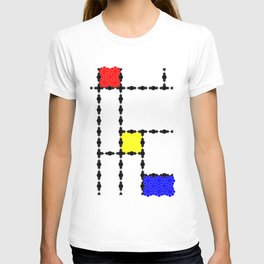 Mondrian and the Eight Point Flower T-shirt