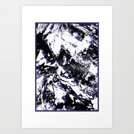 MTHSN_BLUE ID Art Print