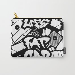 Long Life 2 The Fatcap [PAINTINMYVEINS] Carry-All Pouch
