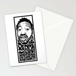 Mr.Ol'Dirty / Rapper's Delight Stationery Cards