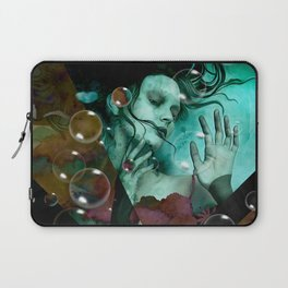 """""""The witch of the water forest"""" Laptop Sleeve"""