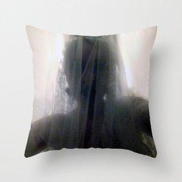 Ghost Bride_Dark Throw Pillow