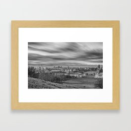 Greenwich View Framed Art Print