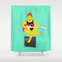 Rocking fairy Shower Curtain