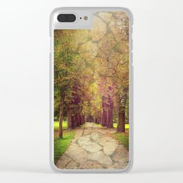 where the road leads to Clear iPhone Case