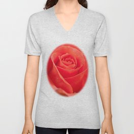 Pretty peach Unisex V-Neck