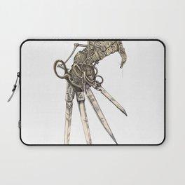 Scissorhands (Sepia-L) Laptop Sleeve