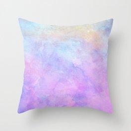 Watercolor (Digital Painting) Throw Pillow