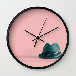 Fedora 2 Wall Clock