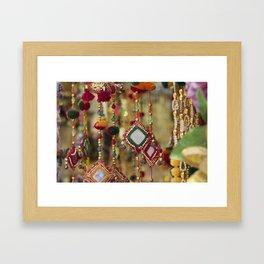 Lace Market II Framed Art Print