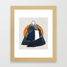 Vernal Falls  Framed Art Print