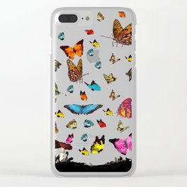 Butterfly´s friends Clear iPhone Case