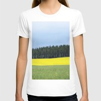 sweden T-shirts featuring Sweden by Anya Kubilus