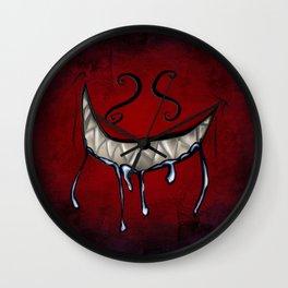Grin Wall Clock
