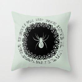 Spider - Trickster Throw Pillow
