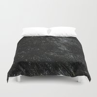 gray Duvet Covers featuring Gray by Justin Similey