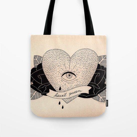 Heart Queen Tote Bag