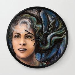 Mermaid Reverie Wall Clock