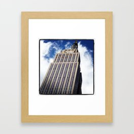 Empire State Building in NYC Framed Art Print