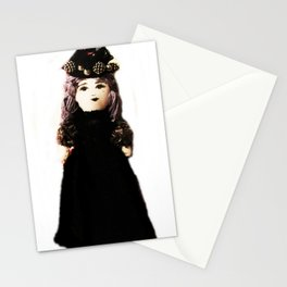 Pretty in Black Doll Stationery Cards