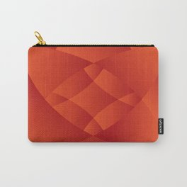red maroon velvet touch Carry-All Pouch