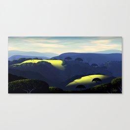 Alum Rock Hills Canvas Print