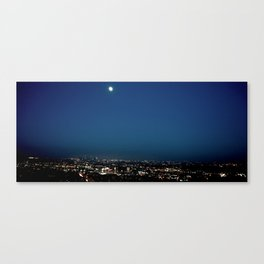l.a. blur Canvas Print
