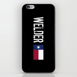 Welder: Texas Flag iPhone Skin