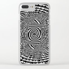 Abstract Spiral Galaxy Clear iPhone Case