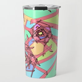 Sticks of Many Colours Travel Mug