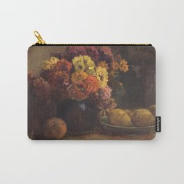Theodore Clement Steele - Fruit and Flowers. Carry-All Pouch