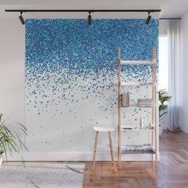 Rain of dots Wall Mural