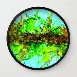 Coral Reeflection Wall Clock