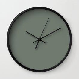 M. green color Wall Clock