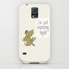 Dog Expression Galaxy S5 Slim Case
