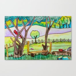 A cute landscape Canvas Print
