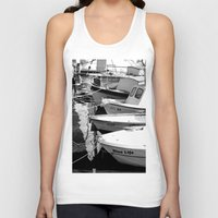 boats Tank Tops featuring boats by habish