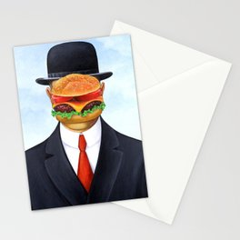Son of Hamburger Stationery Cards