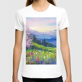 Spring in the Alps T-shirt
