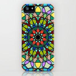 Mandala with art handmade iPhone Case