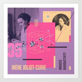 Beyond Curie: Irene Joliot-Curie Art Print