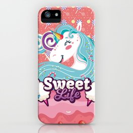 SWEET LIFE iPhone Case