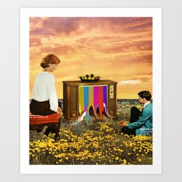 Please Stand By Art Print
