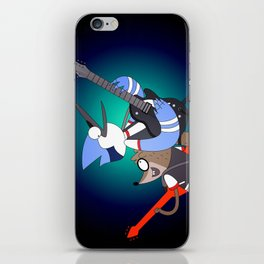 Mordecai and the Rigbys iPhone Skin