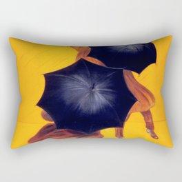 Poster vintage french Parapluie Revel Rectangular Pillow