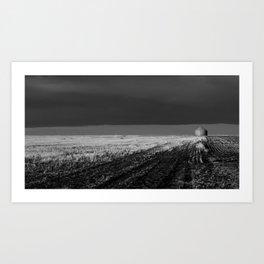 tornado country Art Print