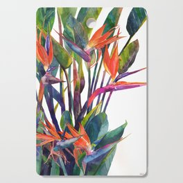 The bird of paradise Cutting Board