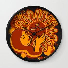 Sunworship Wall Clock