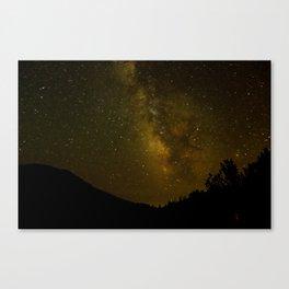 Dusty Stars Canvas Print